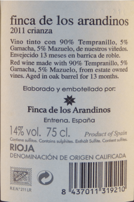 Vino Rioja Alta