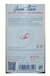 Vino reserva Rioja alta
