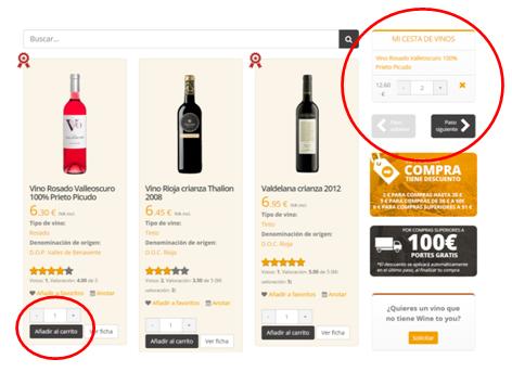 Comprar vino online en Wine to you es sencillo